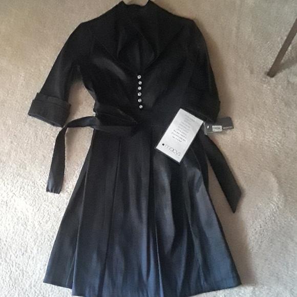Donna Ricco Dresses & Skirts - Donna Ricco Rhinestone  Black Dress Sz 12P